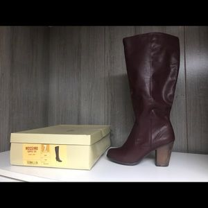 Mossimo extended calf tall boots new